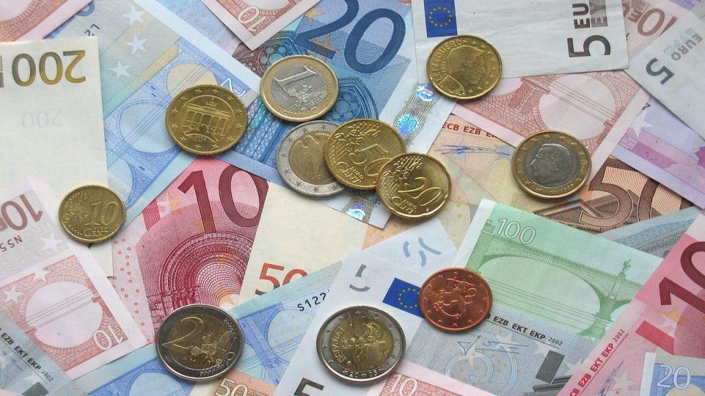 Euronoten Reichtum